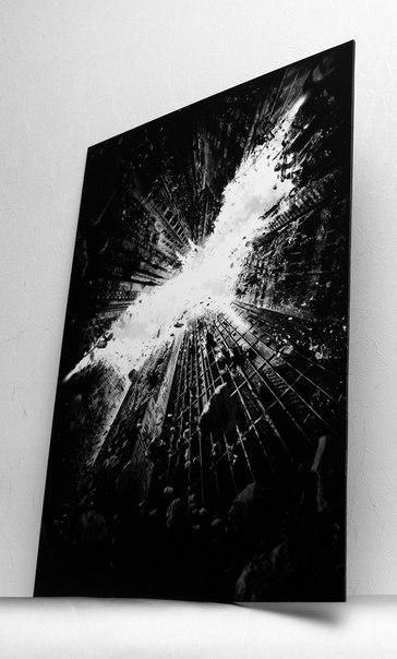 Купить постер на твердой основе Batman