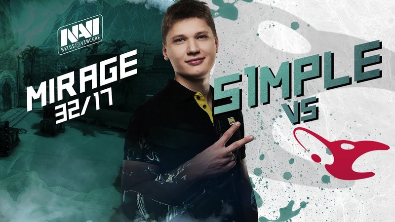NAVI POV s1mple vs mousesports @ StarSeries i-League S5