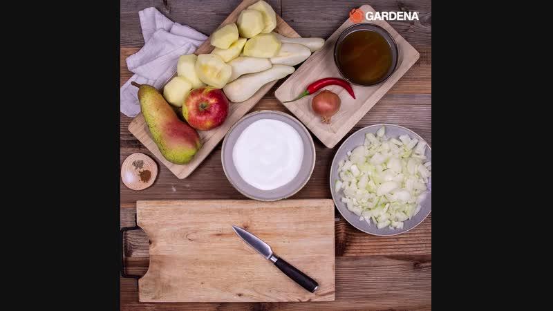 Рецепт соуса чатни из яблок и груш