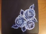 Come dipingere le rose. How to paint roses.