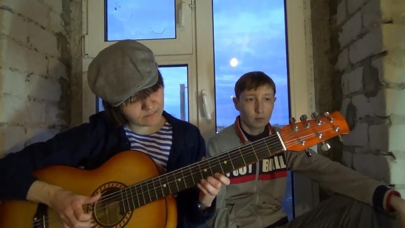 Блатные и дворовые песни - Ты помнишь чудный ясный вечер мая (семиструнная гитара)