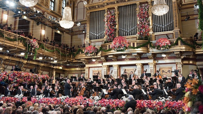 Donauwalzer and Radetzky Marsch New Year's Concert 2019