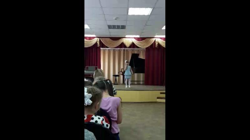 Очередная победа Софи на межшкольном конкурсе