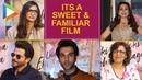 Sonam Kapoor I thought ELKDTAL is a very SWEET FAMILIAR film that Anil Kapoor Rajkummar R