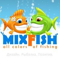 Логотип Mixfish (МиксФиш)