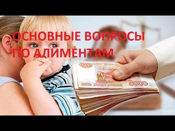 Юрист Киров/ ТОП вопросов по алиментам