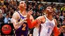 LA Lakers vs OKC Thunder Full Game Highlights   01/02/2019 NBA Season