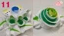 Học Làm Hoa Kem Banh Kem Bánh Sinh Nhật Đẹp - Hai Loại Hoa ( 11 )