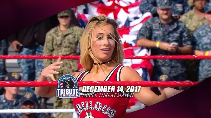 (720pHD): WWE Tribute to the Troops 12/14/17 - Charlotte Flair vs. Carmella vs. Ruby Riott