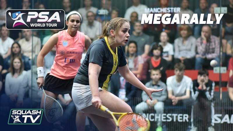 THAT WAS A GREAT ROAR! - Squash MegaRally - El Tayeb v Evans