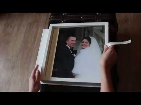 Весільна Фотокнига на основі акрилового скла