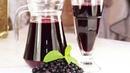Морс из черной смородины освежающий и полезный напиток Blackcurrant Water