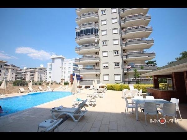 Alanya Apartment mit 2 Schlafzimmer und Komplet Möbliert für 55000 Euro