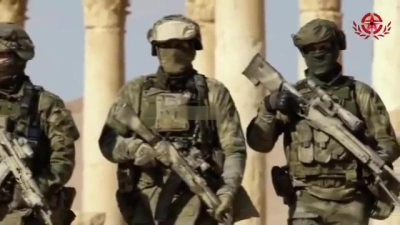 Военнослужащие ССО и СВР в период Дипломатической миссии в САР Сирии