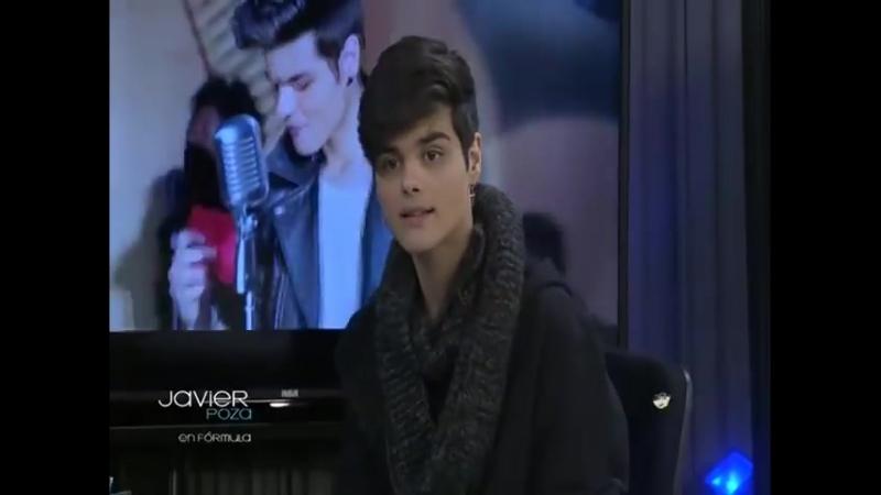 Javier Poza entrevista a Abraham Mateo