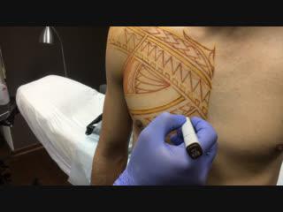 Сеанс #freehand #maori #tattoo