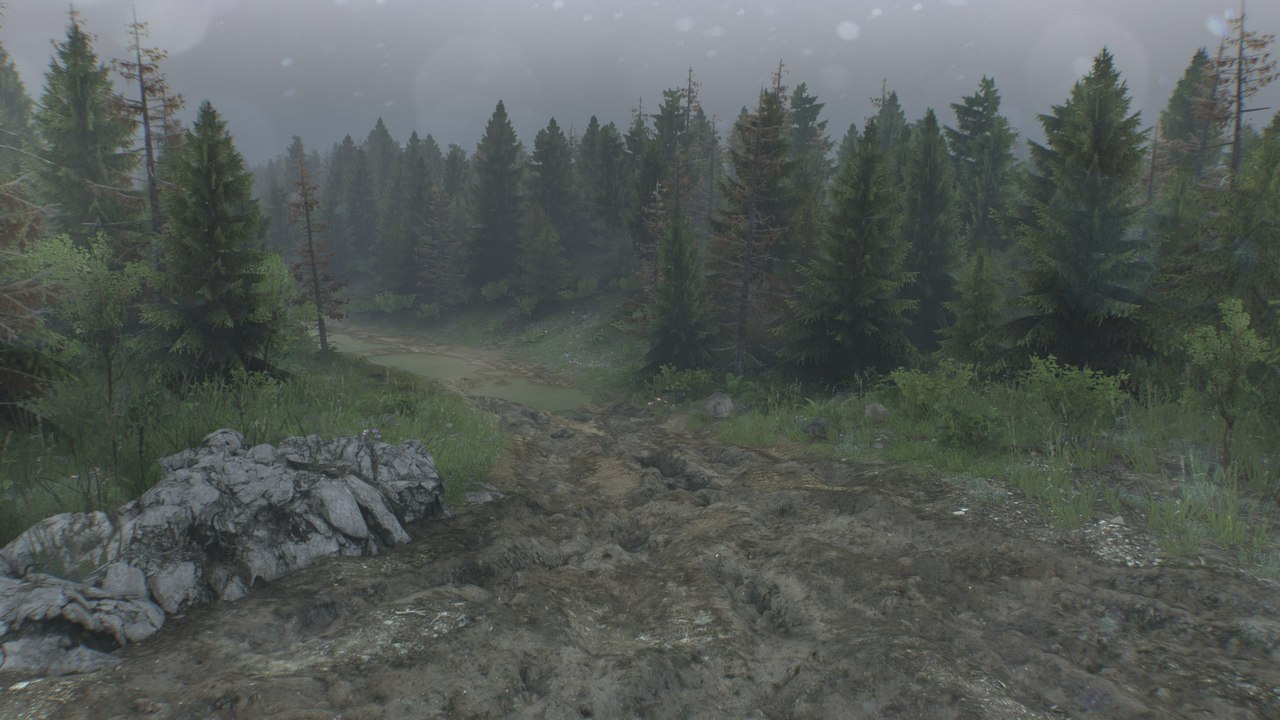 "Карта ""Level_Muddy-roads"" для 25.12.15 для Spintires - Скриншот 2"