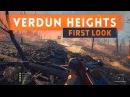 ► VERDUN HEIGHTS FIRST LOOK! - Battlefield 1 They Shall Not Pass DLC