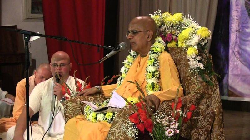 H.H. Gopal Krishna Goswami, Sadhu Sanga festival 27.09.2012