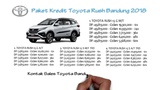 Kredit Toyota Rush Bandung Oktober 2018  081221120026