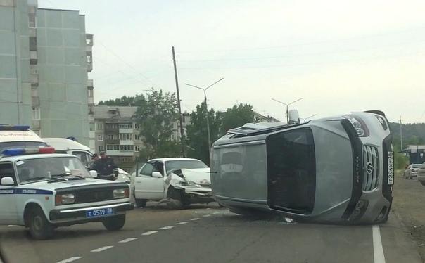 08.07.2018. ДТП на Братском шоссе
