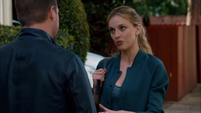 NCIS- Los Angeles 9x22 - Oops, Callen Ghosted Anna!