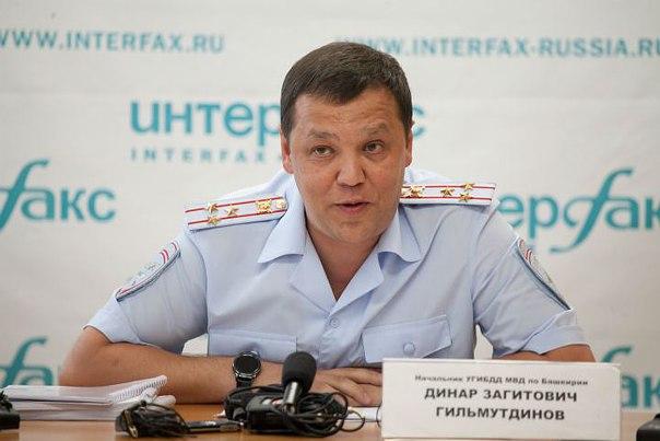 Главный Госавтоинспектор Башкирии отмечает День рождения