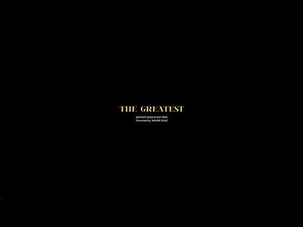 2019 SUGA B DAY PROJ THE GREATEST DVD PREVIEW