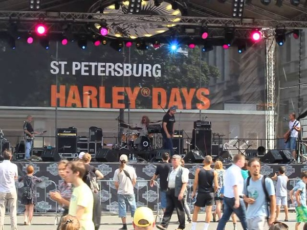 группа Версия Чуда на Фестивале Harley-Davidson в Петербурге