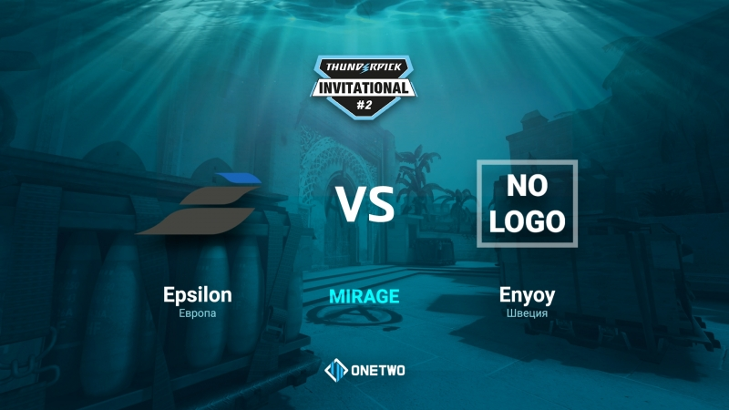 Thunderpick Invitational 2 Epsilon vs Enyoy BO1 by Afor1zm