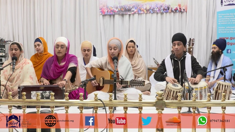 4K | DAY 34 | Simran Jaap 2018 | Bibi Gurpreet Kaur Jatha | Gurdwara Guru Har Rai Sahib Ji