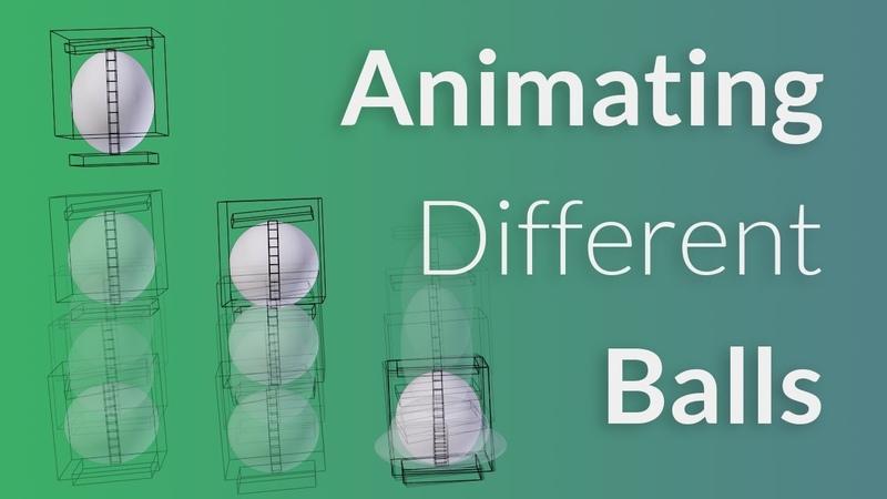 CGC Classic: Animating 3 Types of Balls (Blender 2.6)
