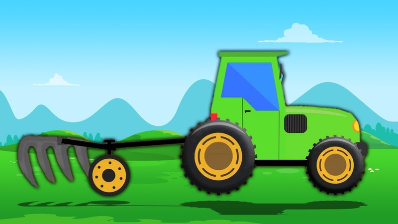 Trator | Formação e Usos | Toy Tractor Cartoon | Farm Vehicles For Kids | Toddlers Videos | Tractor