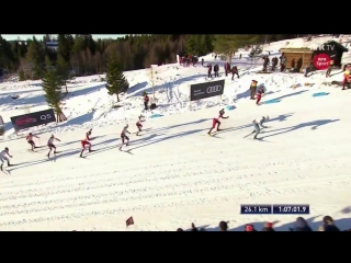 Mens 30 km skiathlon - Highlights - Lillehammer 2017