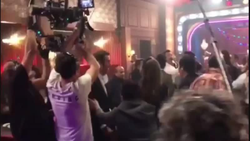 Yusuf Çim /на съемках фильма ВКВ/ Юсуф Чим