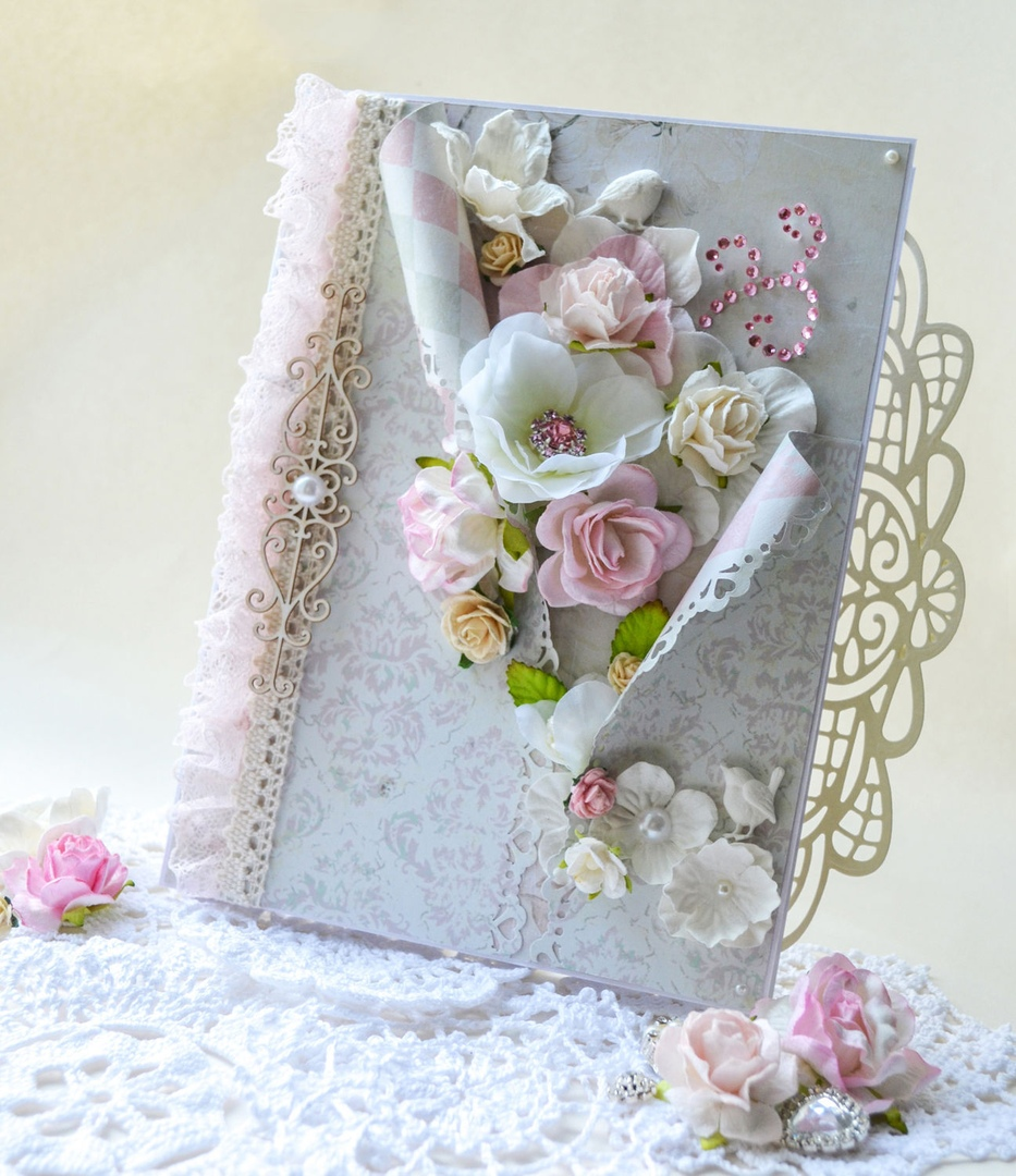 Фото свадебных открыток ручной работы