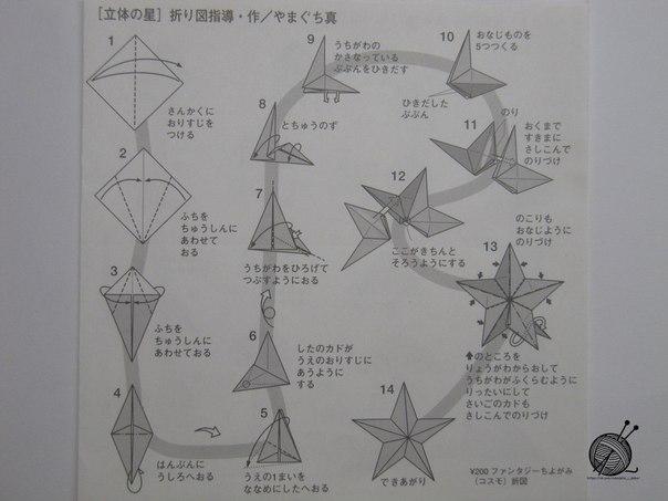 Как сделать звёздочку на ёлку из бумаги своими руками