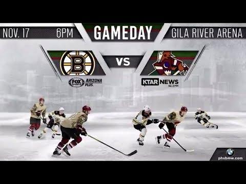 NHL 19 PS4. REGULAR SEASON 2018-2019: Boston BRUINS VS Arizona COYOTES. 11.17.2018. (NBCSN) !