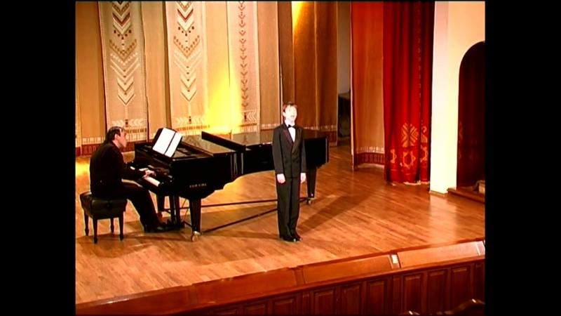 Перголези.Ария сопрано№2 STABAT MATERАндрей Пьянков.Концертмейстер И.Боковский