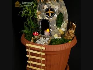 Шикарный мини-сад своими руками
