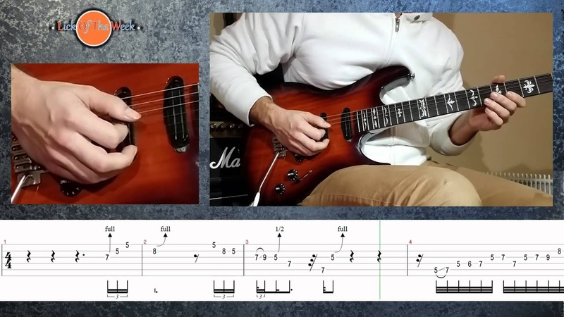 Lick of the week 1 Modern Blues Lick 1