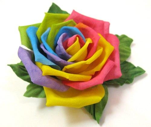 Как покрасить цветы домашних условиях