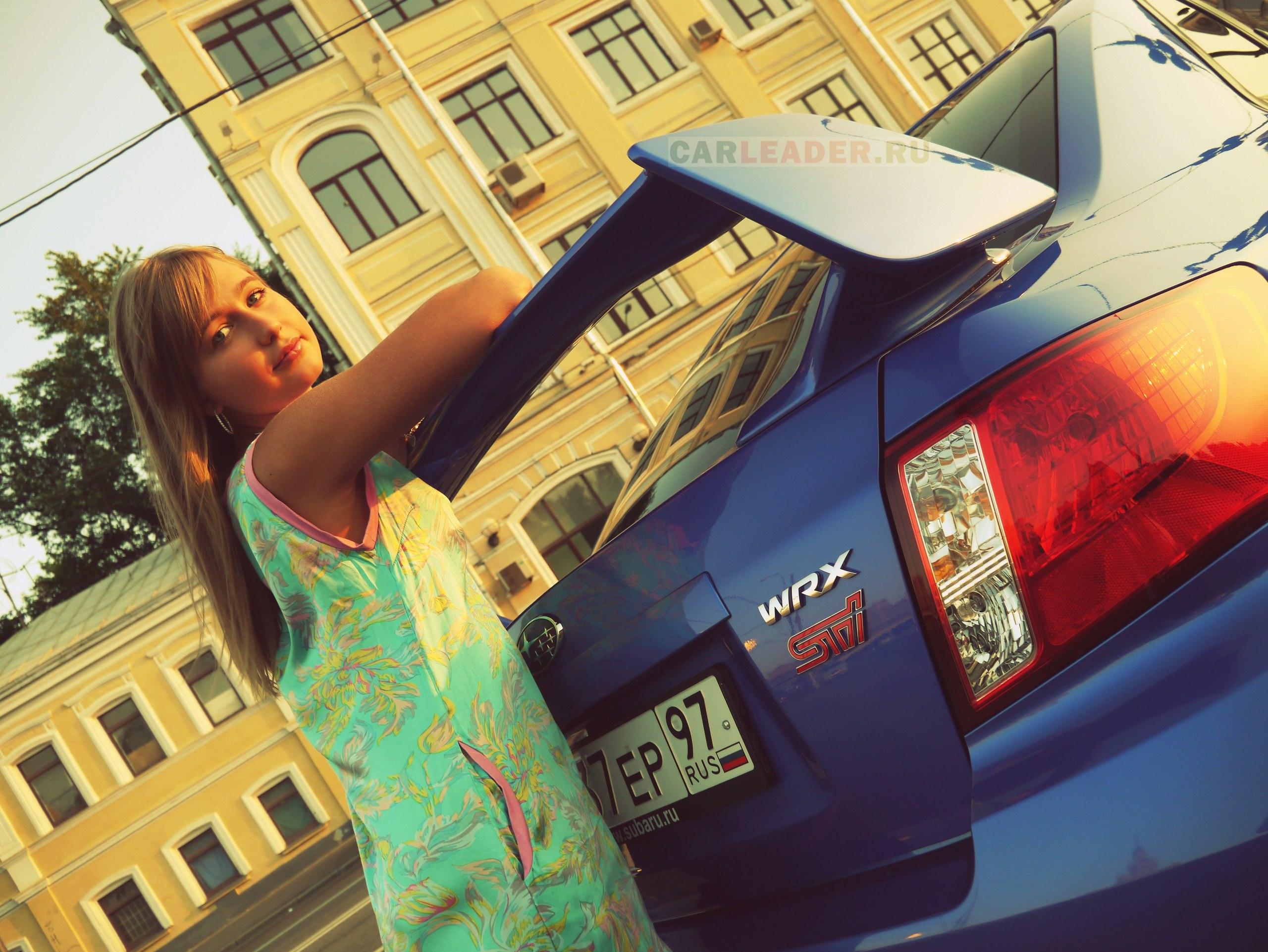 WRX STI 2013 Maria Valkina