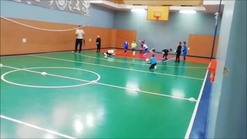разминка дошкольники Академия Футбол г.Шуя 4-7 лет