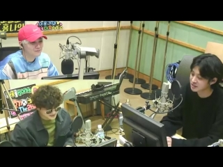 180403 Hongkis Kiss the Radio - Jeong Jinwoon, Jung Joonyoung