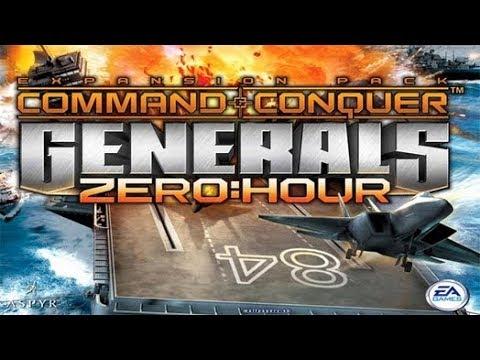 Обзор игры command conquer Generals - Zero hour (2003).
