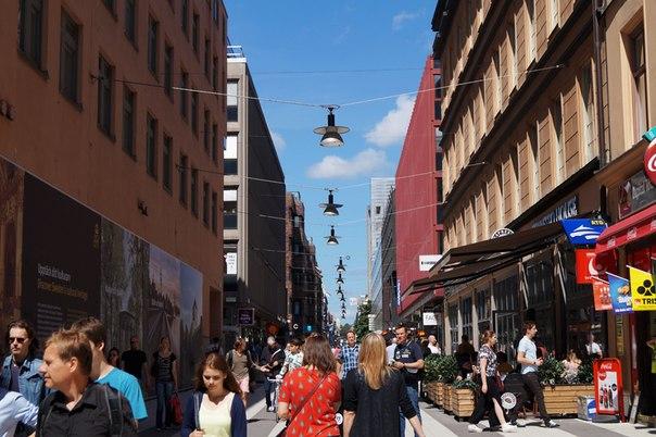 Пешеходная улица Стокгольма
