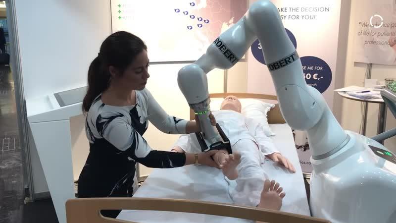 Robot ROBERT Gives New Hope for Bedridden Patients