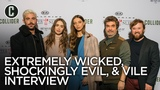 Zac Efron, Lily Collins on Ted Bundy Movie Extremely Wicked, Shockingly Evil, and Vile