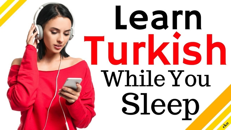 Learn Turkish While You Sleep 😀 Most Important Turkish Phrases and Words 😀 EnglishTurkish (8 Hour)